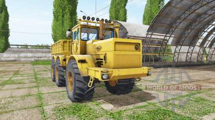 Kirovets K 701 6x6 benne v1.2 pour Farming Simulator 2017