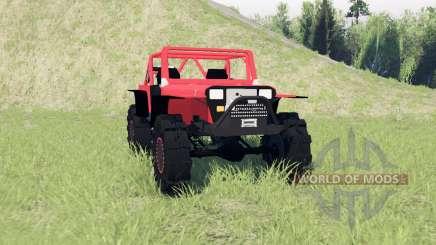 Jeep Wrangler (YJ) für Spin Tires