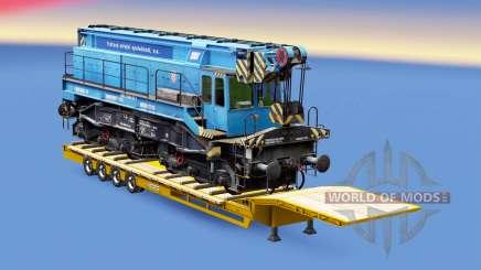 Railway cargo pack v1.8 pour Euro Truck Simulator 2