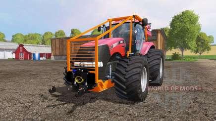 Case IH Magnum CVX 380 forest pour Farming Simulator 2015