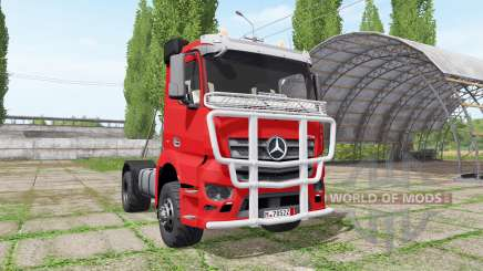 Mercedes-Benz Antos pour Farming Simulator 2017