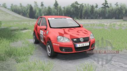 Volkswagen Golf V GTI pour Spin Tires