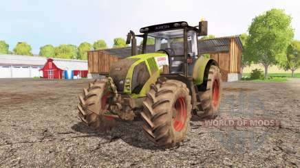 CLAAS Axion 820 front loader für Farming Simulator 2015