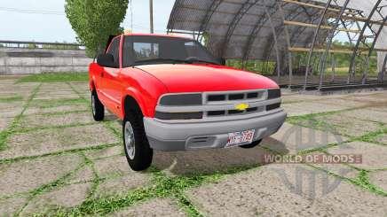 Chevrolet S-10 Regular Cab für Farming Simulator 2017