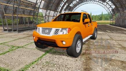 Nissan Frontier Pro-4X Crew Cab (D40) 2012 pour Farming Simulator 2017