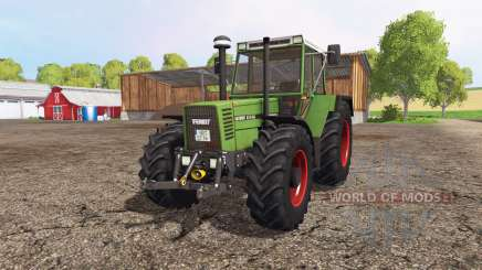 Fendt Favorit 615 LSA Turbomatik pour Farming Simulator 2015