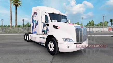 Nico peau pour le camion Peterbilt 579 pour American Truck Simulator