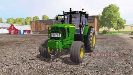 John Deere 6130 pour Farming Simulator 2015