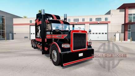 Скин Sud de la Chienne Personnalisé на Peterbilt 389 pour American Truck Simulator
