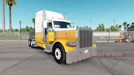 Haut Creme Gold für den truck-Peterbilt 389 für American Truck Simulator