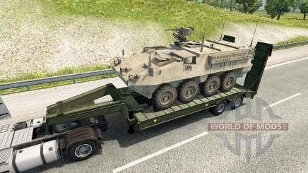 Military cargo pack v2.2 pour Euro Truck Simulator 2