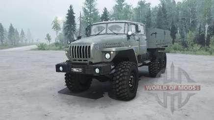 Ural 4320-1912-60 v1.1 für MudRunner