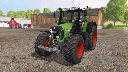 Fendt 820 Vario front loader für Farming Simulator 2015