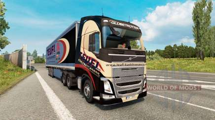 Painted truck traffic pack v2.8 für Euro Truck Simulator 2