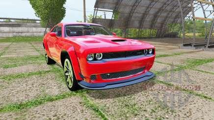 Dodge Challenger SRT Hellcat (LC) pour Farming Simulator 2017