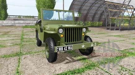 Jeep Willys MB 1942 v1.1 für Farming Simulator 2017