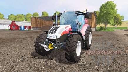 Steyr CVT 6230 front loader pour Farming Simulator 2015