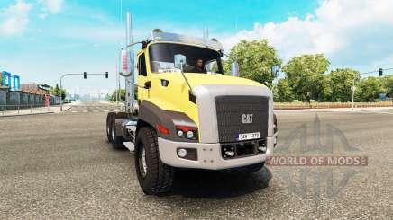 Caterpillar CT660 v2.0 pour Euro Truck Simulator 2