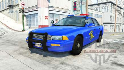 Gavril Grand Marshall michigan state police pour BeamNG Drive
