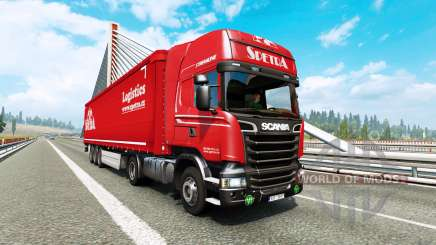 Painted truck traffic pack v2.9 für Euro Truck Simulator 2