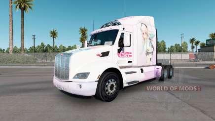 Super Sonico de la peau pour le camion Peterbilt 579 pour American Truck Simulator