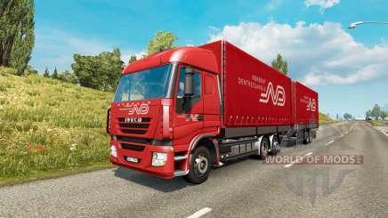 Tandem truck traffic v1.6.1 für Euro Truck Simulator 2
