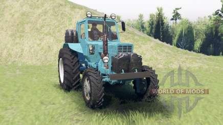 MTZ 82 Biélorusse pour Spin Tires