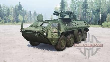BTR-4E Bucephalus für MudRunner
