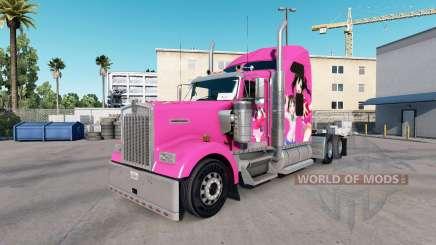 La peau de Nico sur le camion Kenworth W900 pour American Truck Simulator