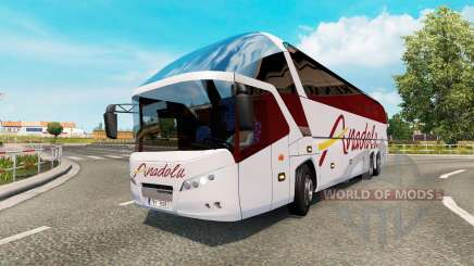 Bus traffic v1.7 für Euro Truck Simulator 2