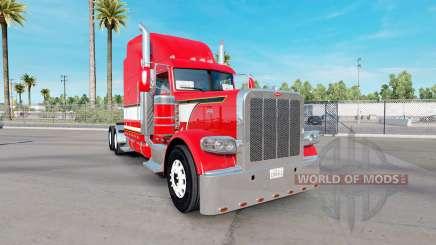 Dragon rouge de la peau pour le camion Peterbilt 389 pour American Truck Simulator