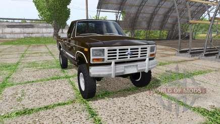 Ford F-150 1985 pour Farming Simulator 2017