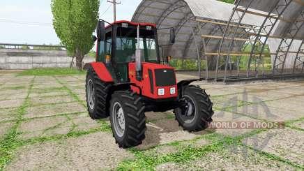 La biélorussie 826 v2.0 pour Farming Simulator 2017