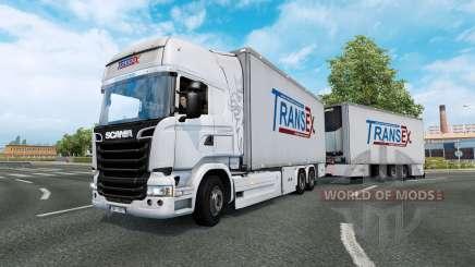 Tandem truck traffic v1.5 für Euro Truck Simulator 2