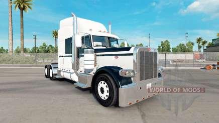 Haut Black & White für den truck-Peterbilt 389 für American Truck Simulator