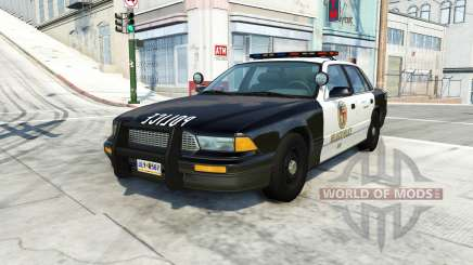 Gavril Grand Marshall belasco police für BeamNG Drive