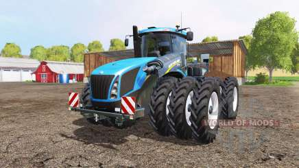 New Holland T9.565 triple wheels pour Farming Simulator 2015
