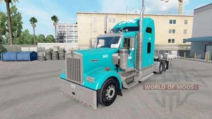La peau Tum sur le camion Kenworth W900 pour American Truck Simulator