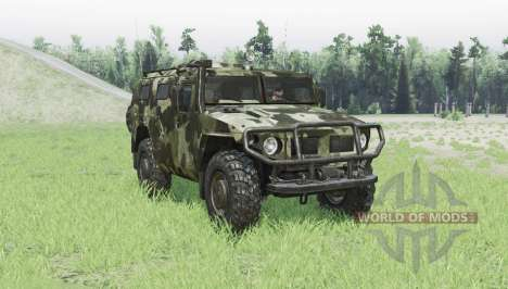 GAZ 2330 Tiger für Spin Tires