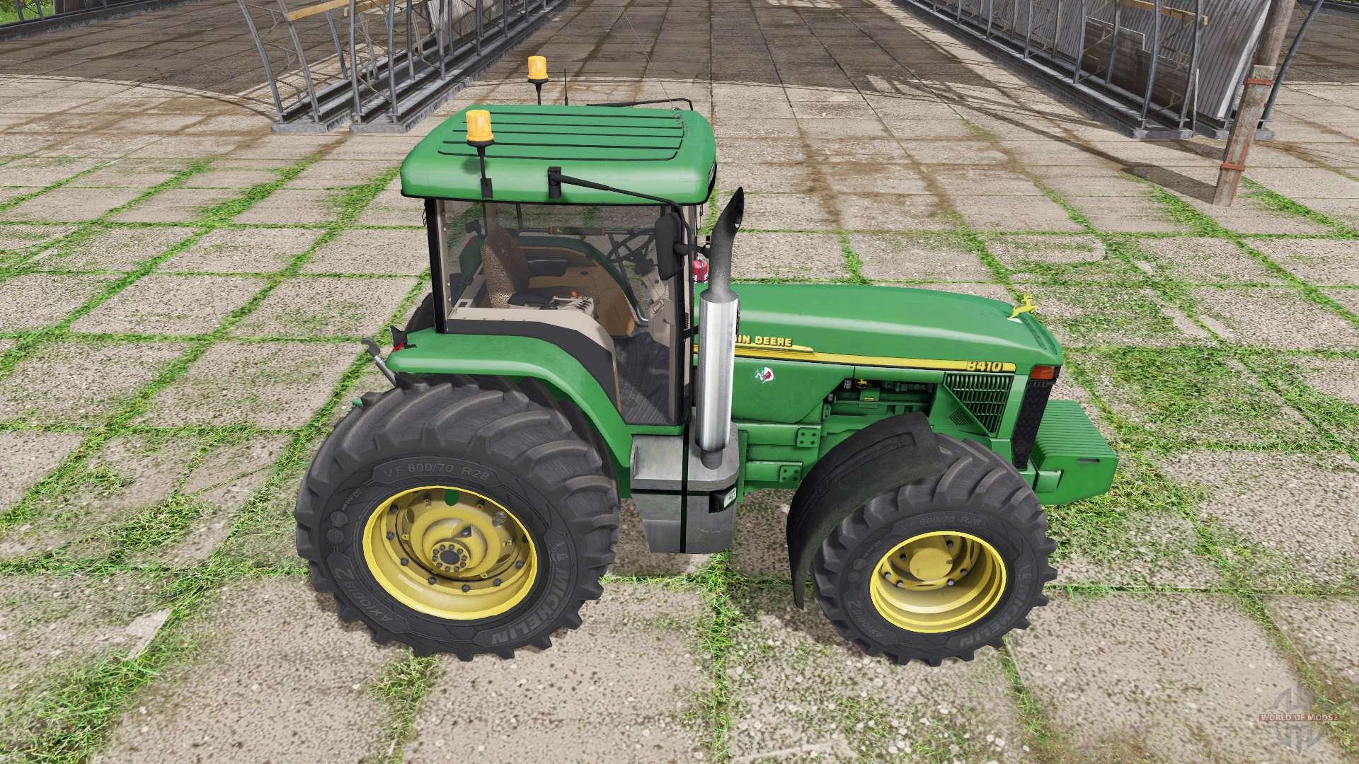John deere 8410 v3 3 6 9 pour farming simulator 2017 for 8410 3