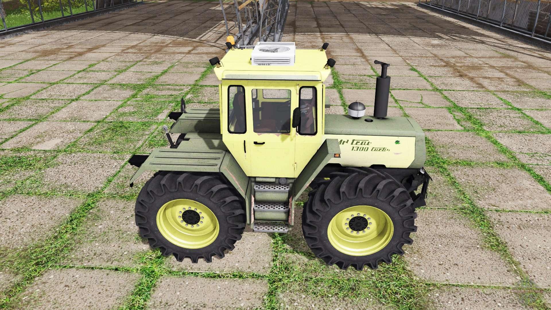 mercedes benz trac 1300 turbo f r farming simulator 2017. Black Bedroom Furniture Sets. Home Design Ideas