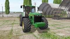 John Deere 8410 v3.3.6.9 pour Farming Simulator 2017