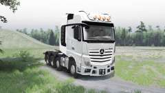 Mercedes-Benz Actros (MP4) 8x8 für Spin Tires