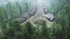 Forstwirtschaft v1.1 für MudRunner