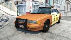 Gavril Grand Marshall sheriff v1.5 pour BeamNG Drive