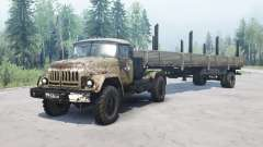 ZIL 131 4x4 pour MudRunner