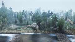 La forêt de Briansk pour MudRunner