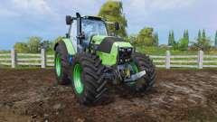 Deutz-Fahr Agrotron 7250 front loader