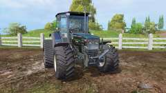 Hurlimann H488 Turbo RowTrac front loader
