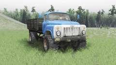 GAZ 53 4x4 v2.0 für Spin Tires